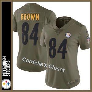 83b22534c64 Nike. NWT! NFL Pittsburgh Steelers Salute Service Jersey